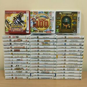Nintendo 3DS Games Pick Your Bundle  **Fast Postage**