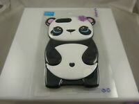 fits iPhone 6 plus, 7 & 8 + plus phone case Panda bear black white