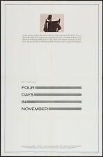 JOHN F. KENNEDY/JFK ASSASSINATION Orig one sheet movie poster 1964 Documentary