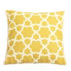 Moroccan chevron Decorative vintage Linen Cotton Cushion Cover Pillow Case 45cm
