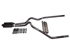"""Ford F150 04-14 2.5"""" Dual Exhaust 2 Chamber Muffler weld on tips"""