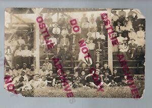 Lennox SD RPPC 1908 BLACK BASEBALL TEAM Negro League MINNEAPOLIS KEYSTONES