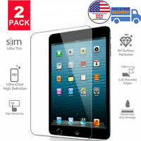2-Pack Tempered Glass Screen Protector For Apple iPad Mini 4 / Mini 5