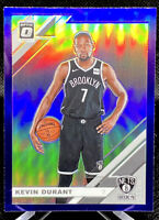 KEVIN DURANT 2019-20 Donruss Optic PURPLE HOLO PRIZM #112 Brooklyn Nets