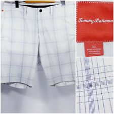 Tommy Bahama Seersucker Mens Size 32 Shorts White Stretch