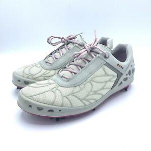 ECCO CAGE EVO Women's Golf Shoe SZ U.S. Sz 10 Euro 41 Gray Pink