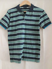 mens PAUL SMITH COTTON STRIPED POLO SHIRT SIZE SMALL