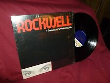 Rockwell Somebody's Watching Me w/ Michael Jackson on Vocals SHRINK ON Vinyl LP