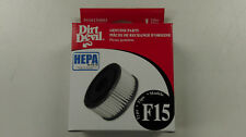Dirt Devil F15 HEPA Filter - Genuine- Part # 3SS0150001