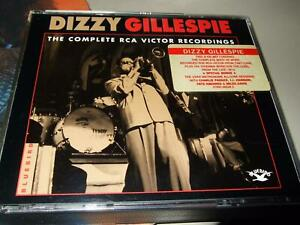 DIZZY GILLESPIE : THE COMPLETE RCA VICTOR RECORDINGS 2CD BOX 1995 BLUEBIRD GER