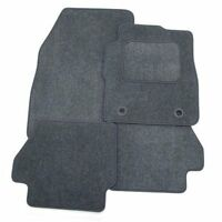 Perfect Fit Grey Carpet Car Floor Mats Set For Rover 75 (01-04) - Eyelet Fixings