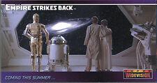Star Wars Widevision Empire Strikes Back Promo P6