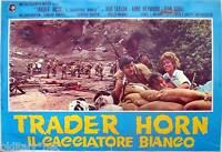 fotobusta 1973 TRADER HORN IL CACCIATORE BIANCO-Rod Taylor-Anne Heywood-Sorel-3