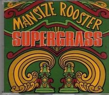 (CD974) SuperGrass, Mansize Rooster - 1995 DJ CD