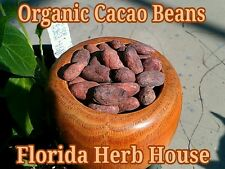Organic Whole Cacao Beans - 4 oz (1/4 lb) - Buy Our Best Cacao Beans Online
