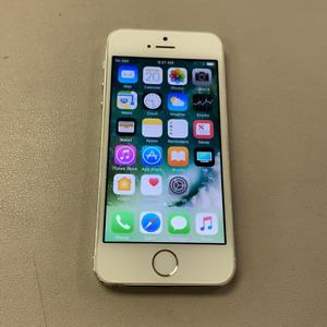 Apple iPhone 5S - 16GB - Silver (Unlocked) (Read Description) DJ1010