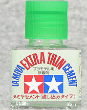TAMIYA 87038 Extra Thin Cement 40ml PLASTIC MODEL KIT SUPPLY CRAFT TOOL NEW