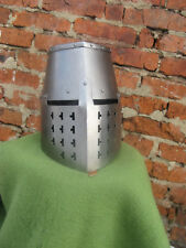 Medieval Knight's Great helm from Bolzano (reconstruction). Steel