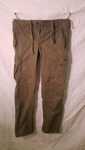 Men's DIESEL Cargo Military Pants 34x34 OLIVE