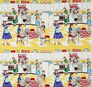 Michael Miller HOME EC Fabric Sold by HALF a METRE W44""