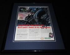 Star Soldier 1989 NES Nintendo 11x14 Framed ORIGINAL Vintage Advertisement