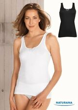 Ladies Two Multipack Cotton sleeveless Vests Warm Stretchy vest Plus UK 10 - 26