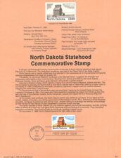 #8904 ((LOT of 5)) North Dakota Statehood Stamp #2403 (5 USPS Souvenir Pages)