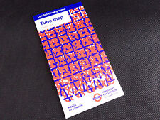 London Underground pocket tube map - December 2014. Daniel Buren.