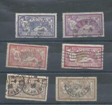 France stamps. Olivier Merson types used. Both 3f have creases  (A598)