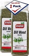 Badia Dill Weed Chopped Herbs Dried Eneldo Picado 4 oz Pack of 2