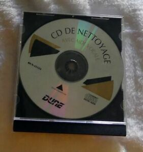 CD de nettoyage