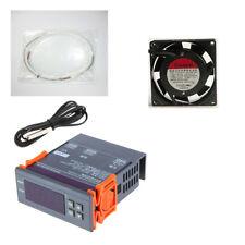 Kit Incubatrici Termostato MH1210A + Resistenza Silicone 150W + Ventilatore 80mm