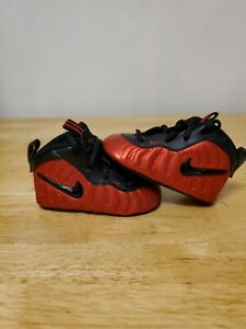 nike lil posite one pro university red size 4c 643145-604