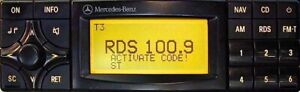 MERCEDES BENZ SPECIAL APS Radio Code by Becker - BP4902 Radio Code