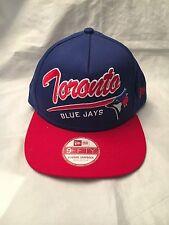 Toronto Blue Jays NEW Sm/Med Script Logo A-Frame Snapback Hat . MLB Baseball NWT