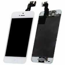White LCD Lens Touch Screen Display Digitizer Assembly Replacement for iPhone 5C
