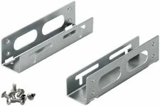 "High Quality 3.5"" to 5.25"" Hard Disk Drive Mounting Bracket + Screws CabledUp UK"