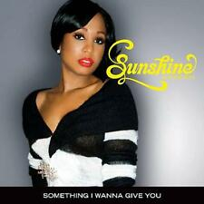 SUNSHINE ANDERSON - SOMETHING I WANNA GIVE YOU - SINGLE CD, 2006 -  CUTOUT