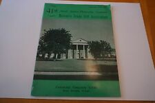 RARE Texas Women's Golf Association Amateur Tournament Program 9/23-29, 1962 VG