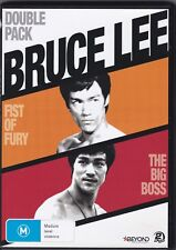 Bruce Lee - Fist Of Fury - The Big Boss - DVD (2 x DVD Region 4)