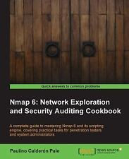 Nmap 6: Network Exploration and Security Auditing Cookbook (Paperback or Softbac
