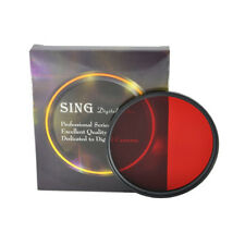Full Color Filter Fr Camera Len 37 25- 82mm Green Orange Red Purple Yellow Blue
