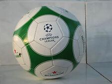 Heineken soccer ball UEFA Champions league beer green white stars used rare