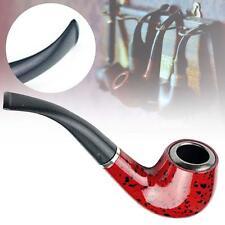 New Gift Wood Smoking Pipe Tobacco Cigarettes Cigar Durable The Knight Enjoy AZ