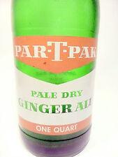 Vintage ACL Limonaden-Flasche: Greeen PAR-T-Pak Style 2 Johnstown, Pa - 32 OZ