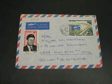 Cameroon 1969 airmail cover to switzerland *30229