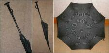 Antique Black Canopy Mourning Umbrella 120cm By Paragon Fox.