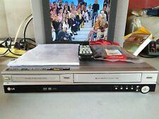 VIDEOREGISTRATORE COPIA VHS SU DVD RECORDER LG RC6500 EX DEMO + TELEC E ISTRUZ.