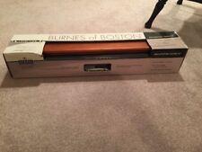 "BNIB Burnes of Boston Decorative 24"" Ledge  Chestnut Level Line"