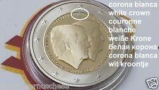 white 2 euro 2014 Fs BE PP proof Paesi Bassi Pays Bas Netherlands Niederlande